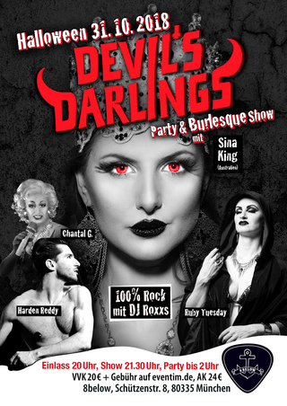 Devil's Darlings Burlesque Show & Halloweenparty in München